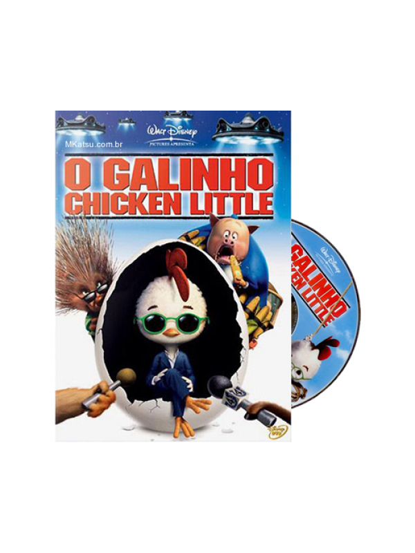 DVD O Galinho Chicken Little Disney